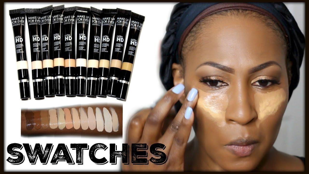 Makeup forever hd concealer