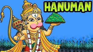 Hanuman | Animated Kids Full Movie In Hindi | Ramayan Cartoon Story For Kids | Kahaniyaan