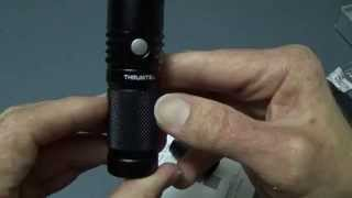 ThruNite Neutron 2C V2 2014 Demo. XM-L2(U2) LED
