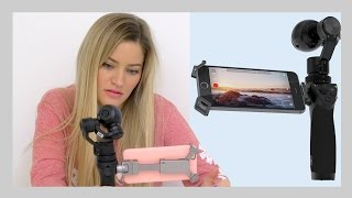 4k Handheld Steady Camera! DJI Osmo unboxing and setup | iJustine