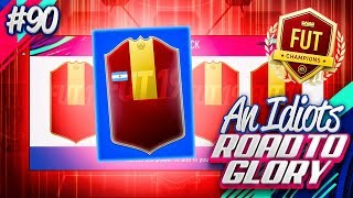 MY BEST FUT CHAMPS REWARDS EVER!!! AN IDIOTS FIFA 19 ROAD TO GLORY!!! Episode 90
