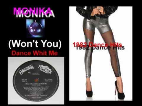 Monika - Wont You  Dance With Me (12 inch rare) 1982
