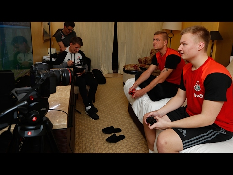 FIFA на сборах: STAVR - за «Боруссию», Баринов – за «Ливерпуль»