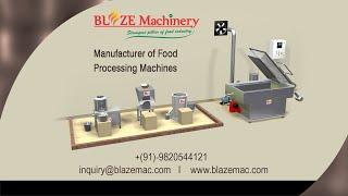 Batch type Potato , cassava , banana chips machine