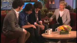 Jonas Brothers on The Ellen Degeneres Show: January 21, 2008