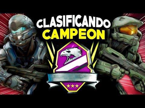 Halo 5   CLASIFICANDO EN CAMPEÓN   Máximo Rango Impresionante