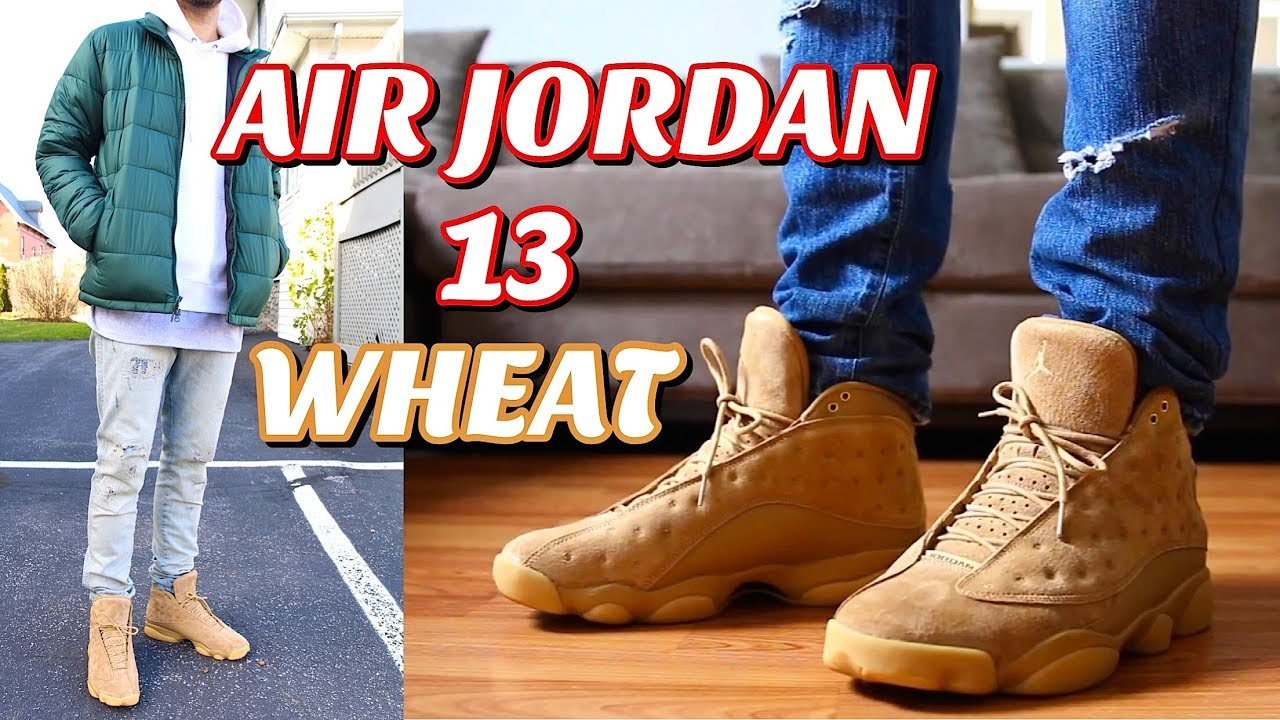 How To Style Air Jordan Retro 13 Quot Wheat Quot On Feet Outfits