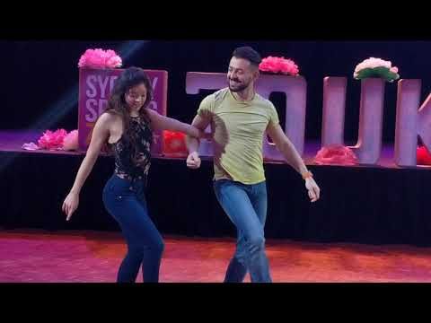 SSZF2018: Christina & Alisson in Sunday afternoon final workshop demo ~ Zouk Soul
