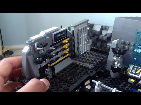 Lego Batman Batcave Custom Lego Batman Batcave Moc
