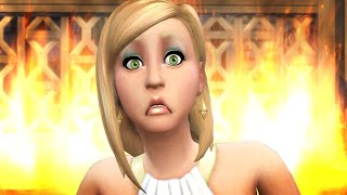 I tried to Ruin Nancy Landgraab's Life in The Sims 4 (she must PAY)