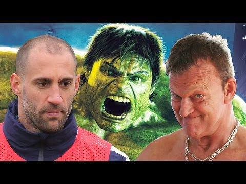 HULK, ZABALETA & CHAPPY | Pablo shows his artistic side