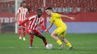 Resumen Copa del Rey Girona 0-3 Villarreal
