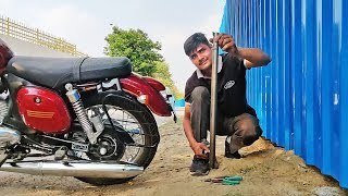 Jawa Exhaust Sound: DB KILLER REMOVED | Maximum thumping