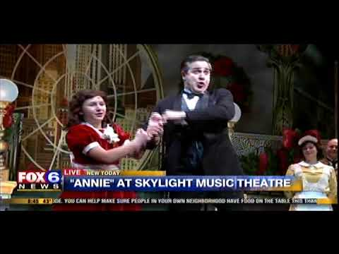"""Anything For You"" from Skylight Music Theatre's ""Annie"" on Fox 6 Wake Up"