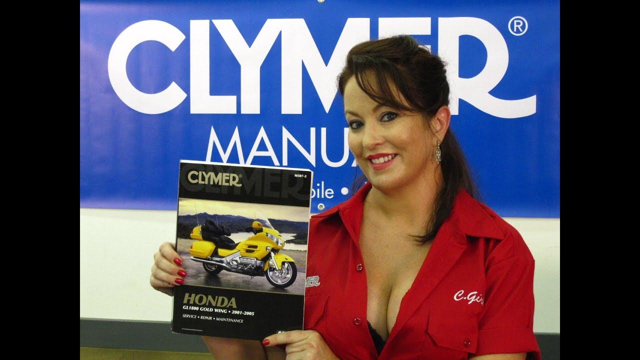 Clymer Manuals Honda GL1800 Goldwing Shop Service Repair
