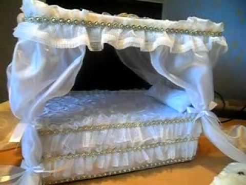 Кровати для кукол фото своими руками