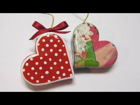 DIY: Heart photo holder. Porta foto coraz ón.