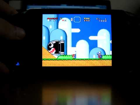 Super Mario world on the Vita (Snes9xTYL on VHBL 1.80)