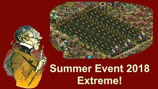FoEhints: Summer Event 2018 Extreme in Forge of Empires