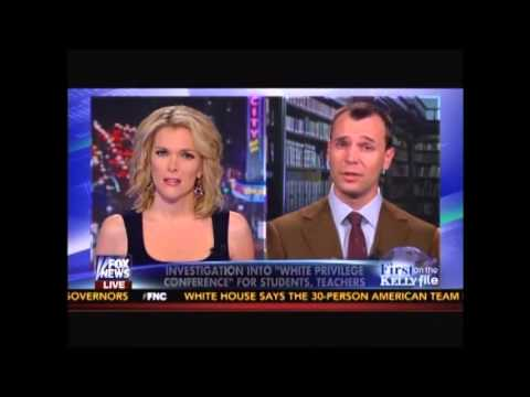 Kyle Olson Exposes White Privilege Conference 2014 On The Kelly File video