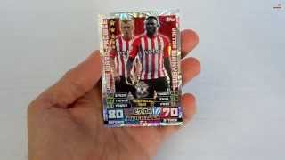 UNBOXING: 3 Sobres Topps Match Attax 2014-2015 [5]