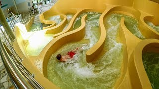 S&R Olympia Brugge - Wildwaterbaan | Amazing Wild Water Maze Onride POV