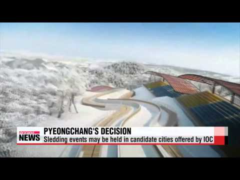 IOC tells PyeongChang it can hold some 2018 Olympic events in other cities if it