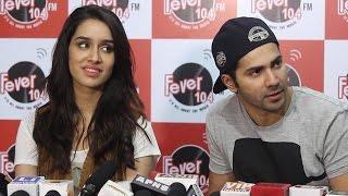 Varun Dhawan & Shraddha Kapoor Promote ABCD 2 @ Fever 104 FM Radio