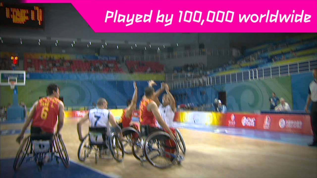 Wheelchair Basketball Game Wheelchair Basketball at The