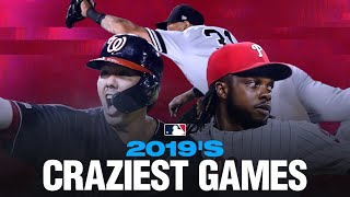 MLB's Craziest Games of 2019!