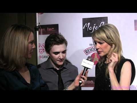 Kathryn Morris and Kyle Gallner at Premiere of Cougars Inc.