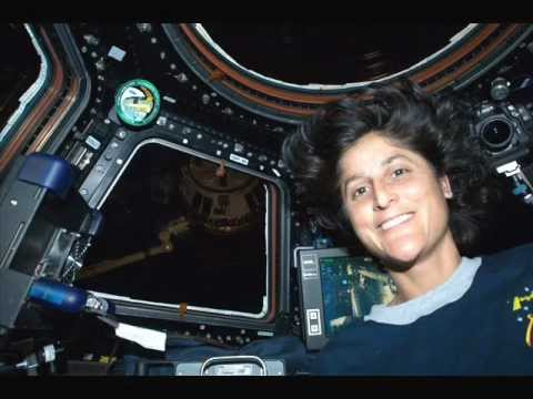 Sunita Williams from the International Space Station OR4ISS