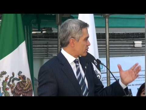 Mancera pone en marcha la Planta Potabilizadora Purísima Democrática en Iztapalapa