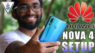 Huawei Nova 4 Initial Setup (including Punchhole Camera, Face Unlock and Fingerprint) 🇱🇰