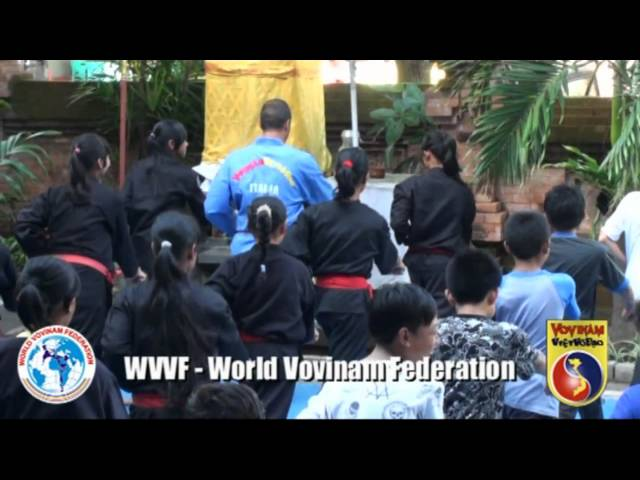 Vovinam in Bali with a Pencak Silat class - Indonesia - WVVF