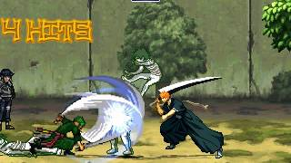 Ichigo and Zoro VS Hollow and Zetsu Invasion