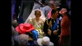 Royal Wedding of Charles   Diana july 29 1981 p8   YouTube