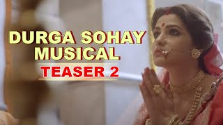 Durga Sohay Musical Teaser 2   Celebration of Devi   Bickram Ghosh   Arindam Sil   Sohini