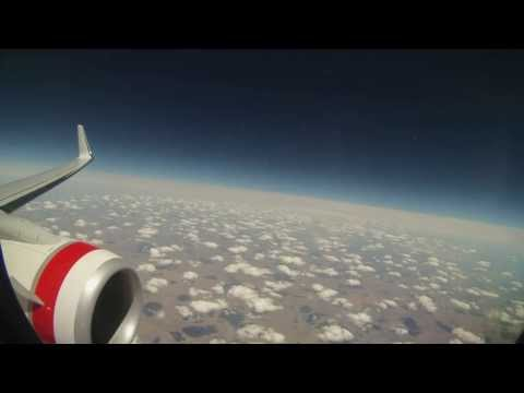 FLIGHT TIME LAPSE - SYDNEY - ADELAIDE