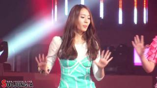 [111230] f(Krystal) - Hot Summer Remix @ KBS Gayo Daejun [FANCAM]