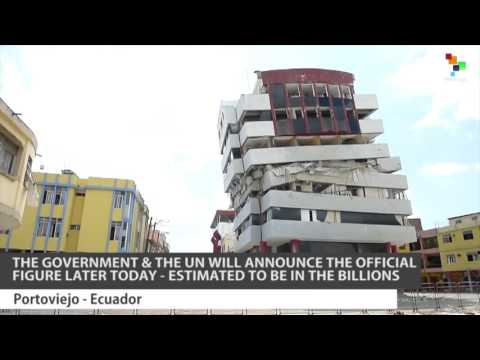 Ecuador: Cost Of The Earthquake