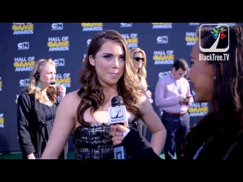 McKayla Maroney talks about moving into acting after gymnastics at Hall of Game Awards