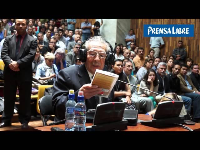 Panorama de la sentencia contra José Efraín Ríos Montt