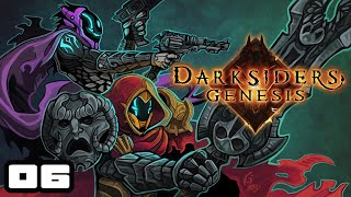 Let's Play Darksiders Genesis [Co-Op] - PC Gameplay Part 6 - WHO LIGHTS THESE CANDLES?!