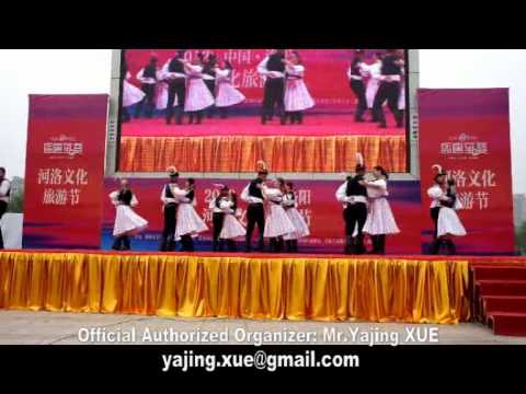 2012 China Luoyang Heluo Culture Tourism Festival LCTF, Czech Folk Dance Ensemble 1