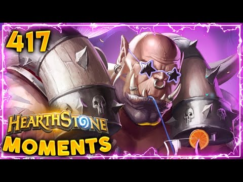 Finding the Luckiest Card!! | Hearthstone Un'Goro Daily Moments Ep. 417 (Funny and Lucky Moments)
