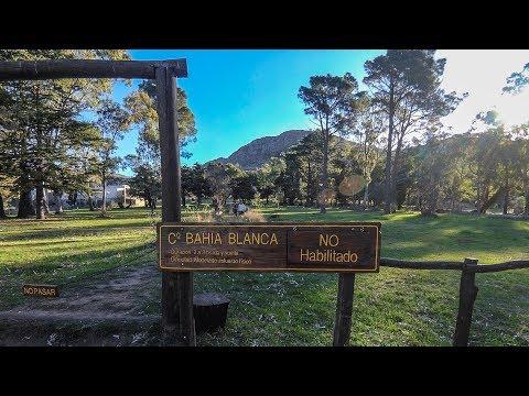 Subiendo al cerro Bahía Blanca