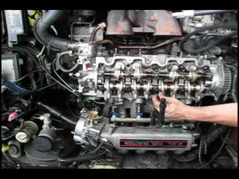 1989 Mazda Mx 6 F2 Head Gasket Time Lapse Youtube