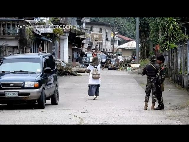 Life begins returning to war-torn Marawi city