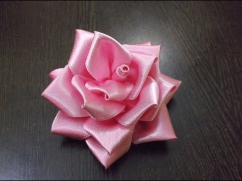 D.I.Y. Full Bloom Satin Ribbon Rose - Tutorial Music Videos